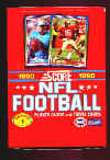 1990 Score Football WAX BOX - Series 1 - 36 unopened packs