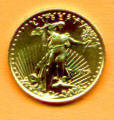 Tenth ounce American Gold Eagle coin