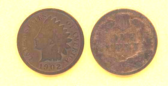 Indian Head Penny - US cent